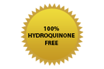 100% hydroquinone free